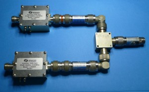2 x LA004A Amplifiers Used to improve combining Isolation and increase output levels
